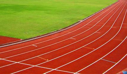 按其主材成份塑胶跑道可分类为:透气型塑胶跑道,全塑型塑胶跑道,